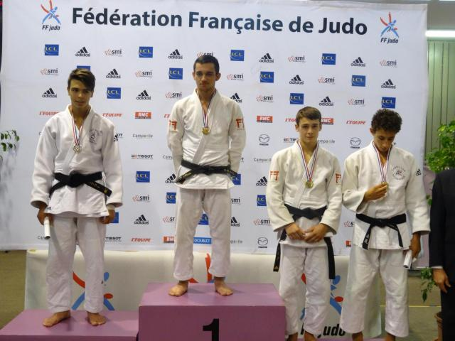 Podium coupe de france 2016 leo 3eme